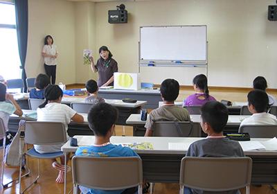 写真:ボランティア体験講座